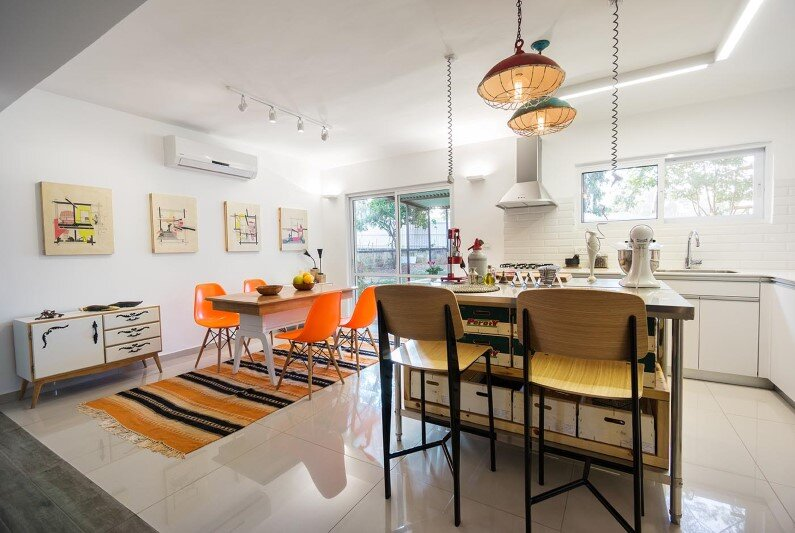 dining room by Rotem Guy