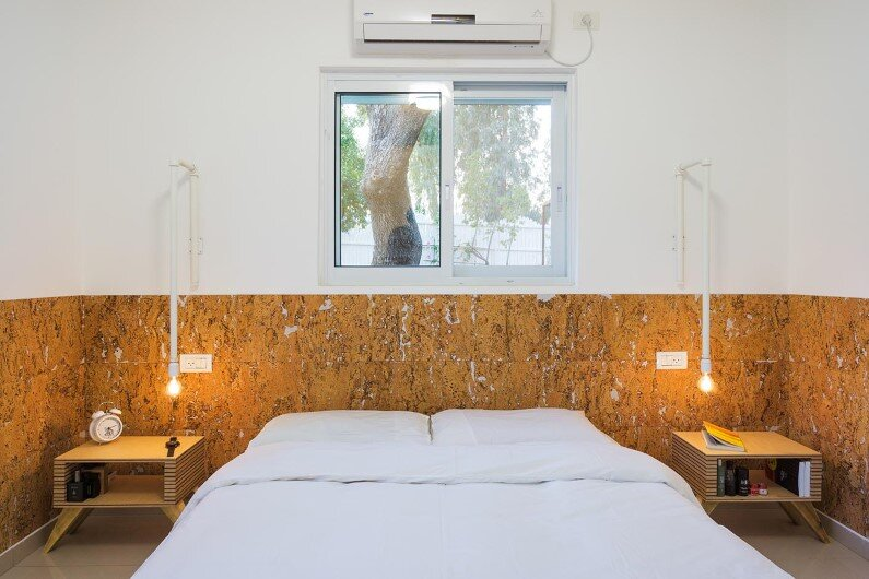 Moshav House redesigned by Rotem Guy - bedroom interiors