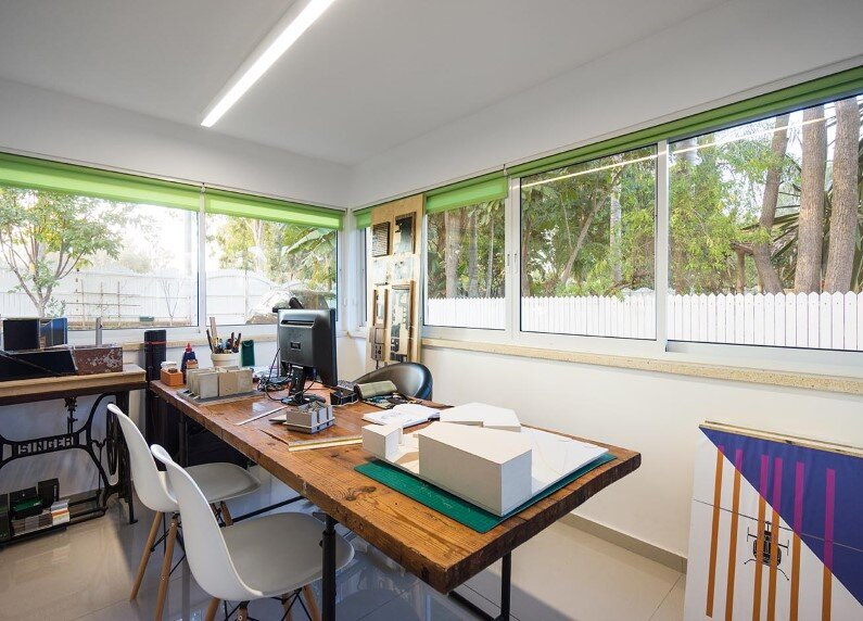 home office by Rotem Guy- workspace