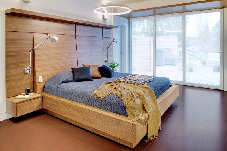 Bedroom design by Studio Roundabout