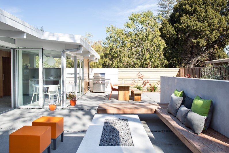 Contemporary garden - Silicon Valley
