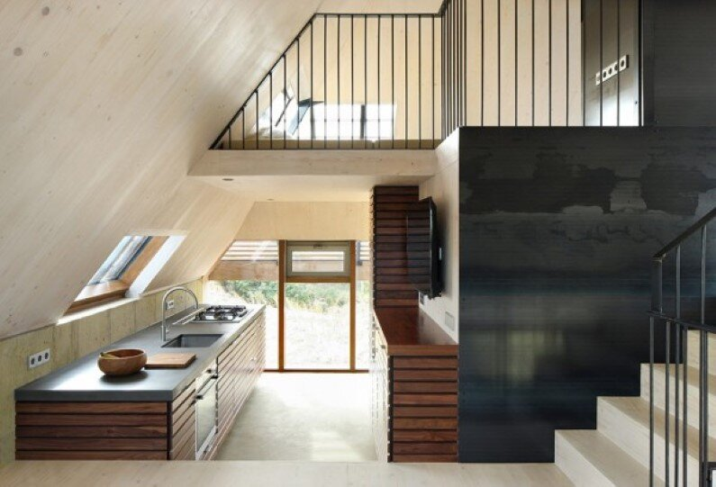 Dune House inspired by sand dunes of Terschelling Island (8)