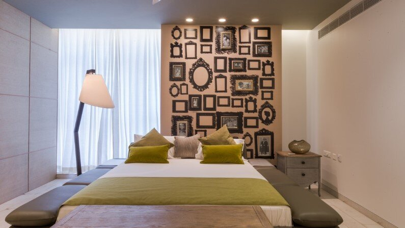 Duplex Apartment in the Indian town of Hyderabad - bedroom