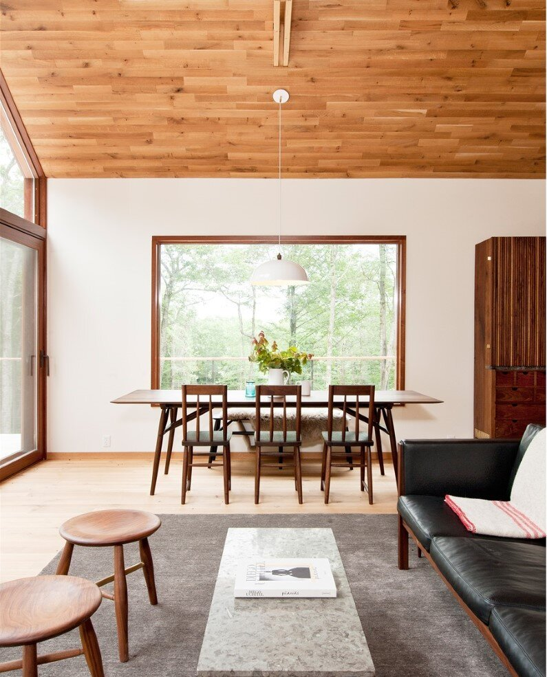 Hudson Woods energy efficient modern houses - interiors