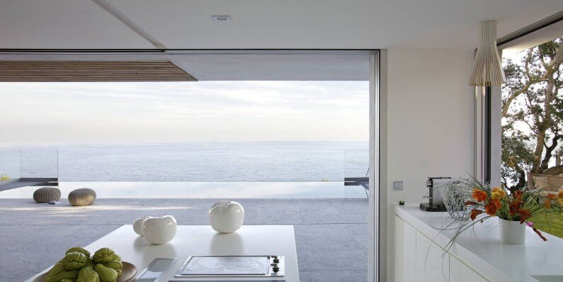 L'escalet House in Ramatuelle - with a panoramic view to the sea