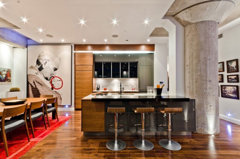 Montreal Loft modern and charismatic project by ActDesign