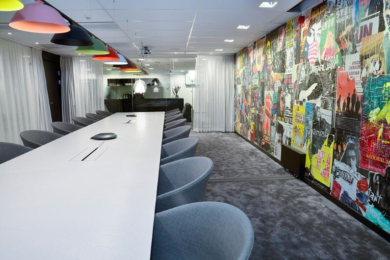 offices in Stockholm - interiors by Adolfsson & Partners