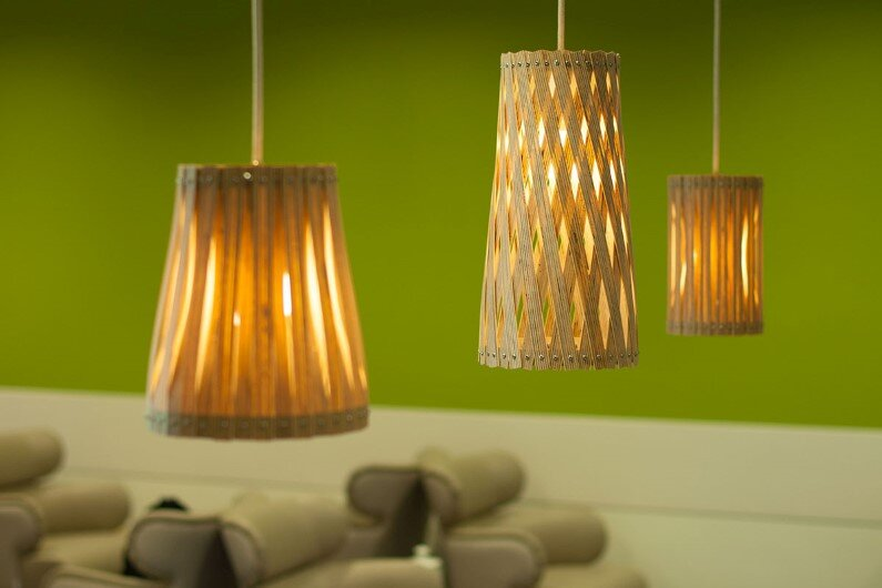 Upcycle - collection of handmade lamps (1)
