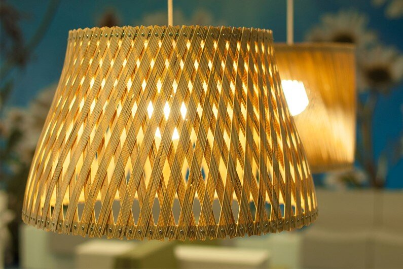 Upcycle - collection of  lamps