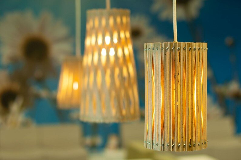 Upcycle lamp