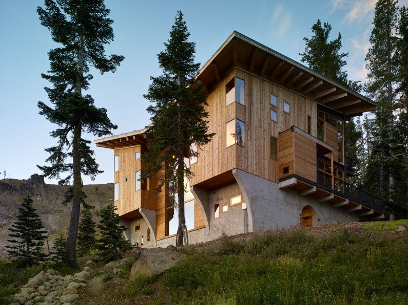 Vacation house in California - Crow's Nest Residence by Mt Lincoln Construction (1)