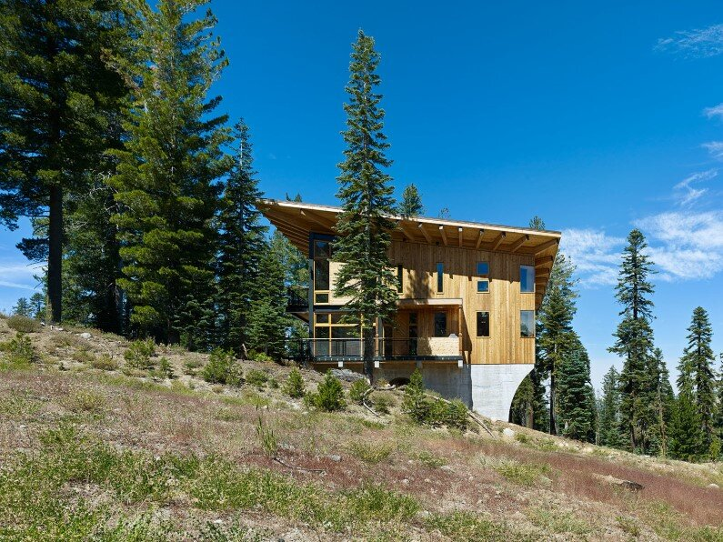 Vacation house in California - Crow's Nest Residence