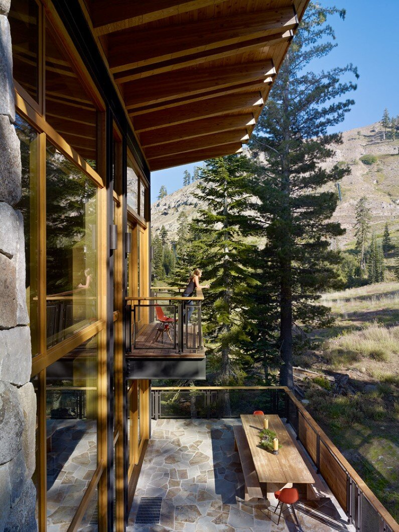 balcony and terrace, BCV Architecture
