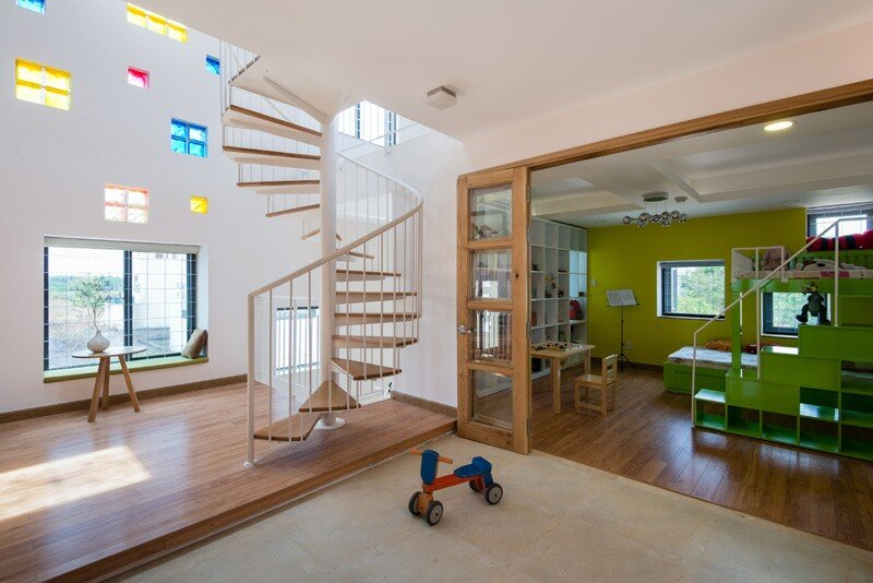 Vietnamese House a luminous residence that encourages communication