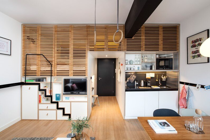 Zoku Hotel- new concept of hotel room