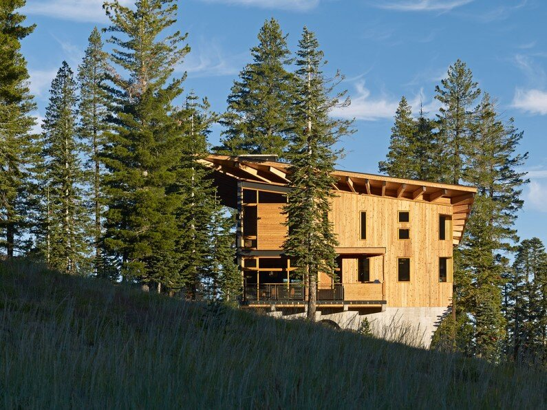 house in California - Crow's Nest Residence by Mt Lincoln Construction - view
