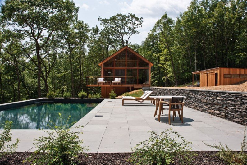 modern houses in the Hudson River Valley - architecture by Lang Architecture