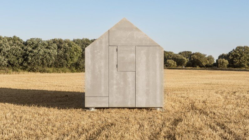 ÁPH80 series - house project - developed by Spanish architecture studio Ábaton