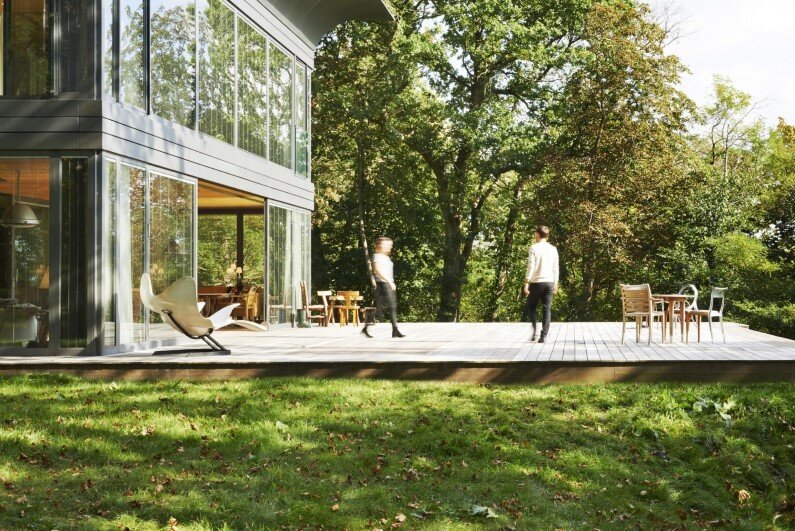 Collection of prefabricated homes with high eco-technology systems - French designer Philippe Starck and Slovenian prefabricated housing specialist Riko