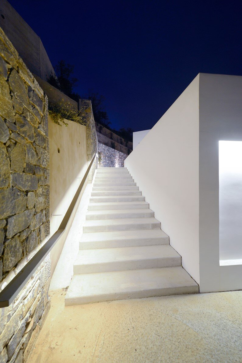 Contemporary architecture - project was completed by Studio 2Pi Architecture in collaboration with architect Valia Foufa
