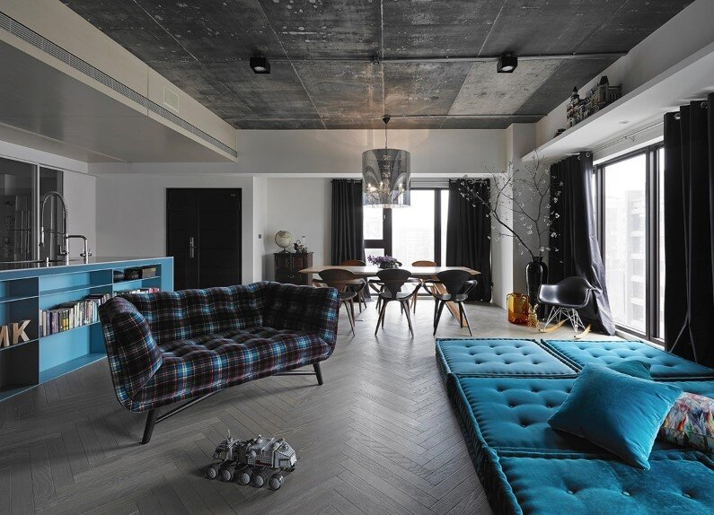 combination of elegance and industrial design by Ganna Design