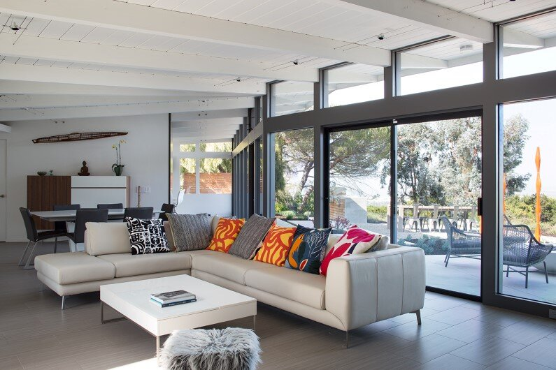 House Remodel by Klopf Architecture - living room