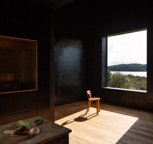 Interiors - Cabin by Cheshire Architects - New Zealand
