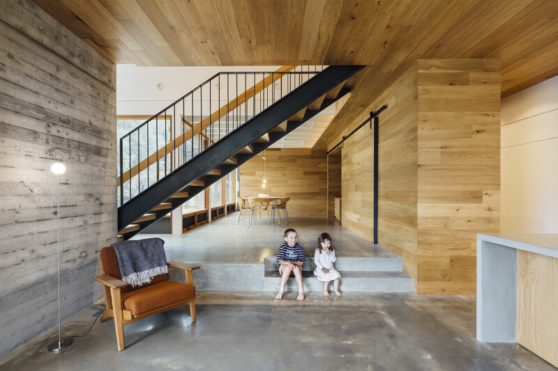 Invermay House by Moloney Architects - interiors
