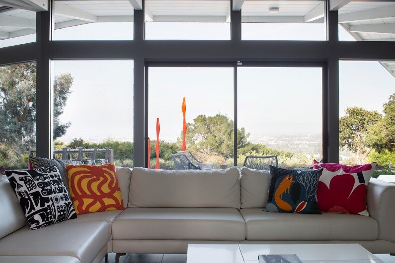 MCM View Home Remodel by Klopf Architecture - living room