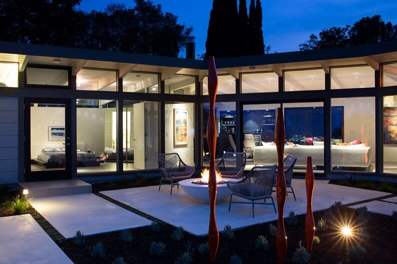 Mid-Century Modern House Remodel by Klopf Architecture, Silicon Valley