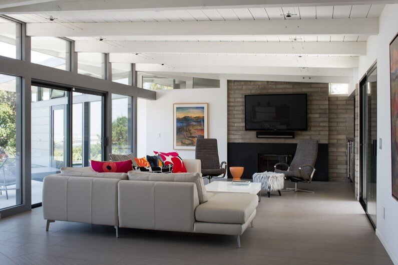 Mid-Century Modern House by Klopf Architecture in Silicon Valley
