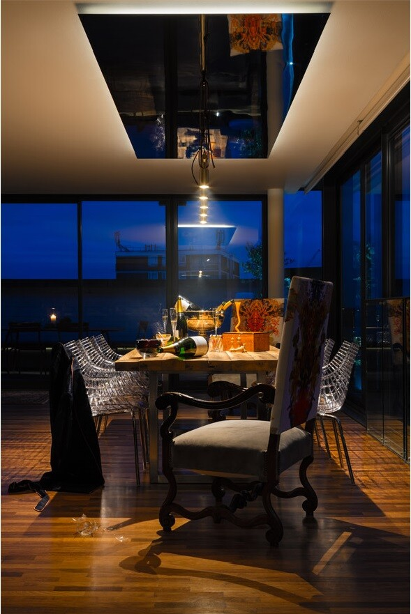Night and Day Bermondsey penthouse apartment in London