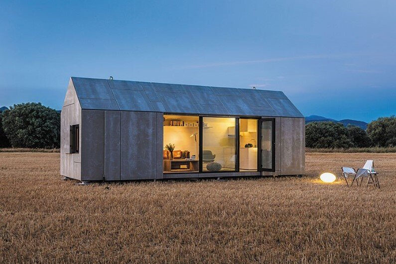 Portable house is easy to place in various locations - Abaton Arquitectura