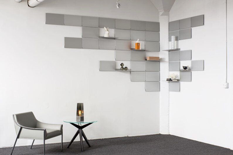 Shelving Luxe Series by Lake and Wells
