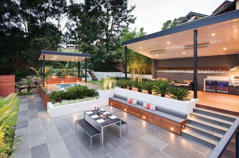 Spectacular outdoor design project