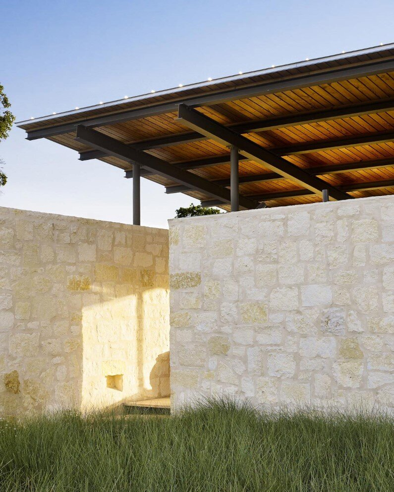 Story Pole House by Lake Flato Architects, Center Point, Texas