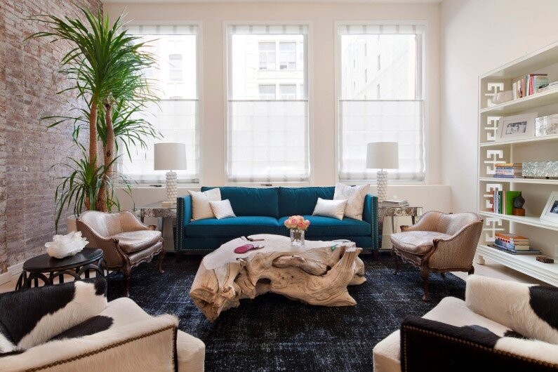 Tribeca Duplex by Revamp Glamour style meets play