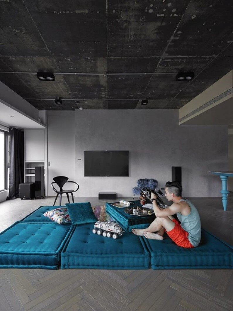 Will apartment - combination of elegance and industrial design , Taipei, Taiwan