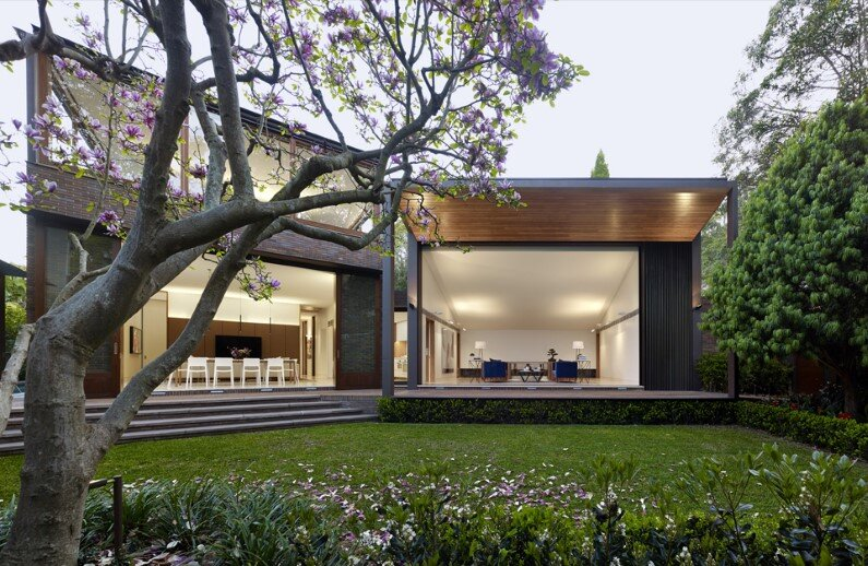 Woollahra Residence - new family house by Tzannes Associates (1)
