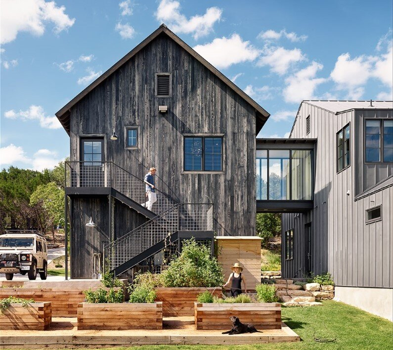 family home designed by Shiflet Group Architects in Austin, Texas