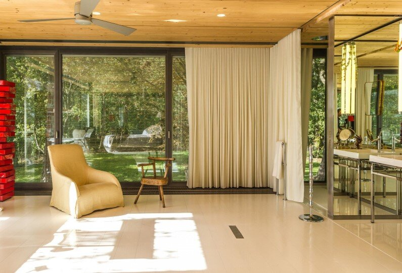 interiors - French designer Philippe Starck and Slovenian prefabricated housing specialist Riko
