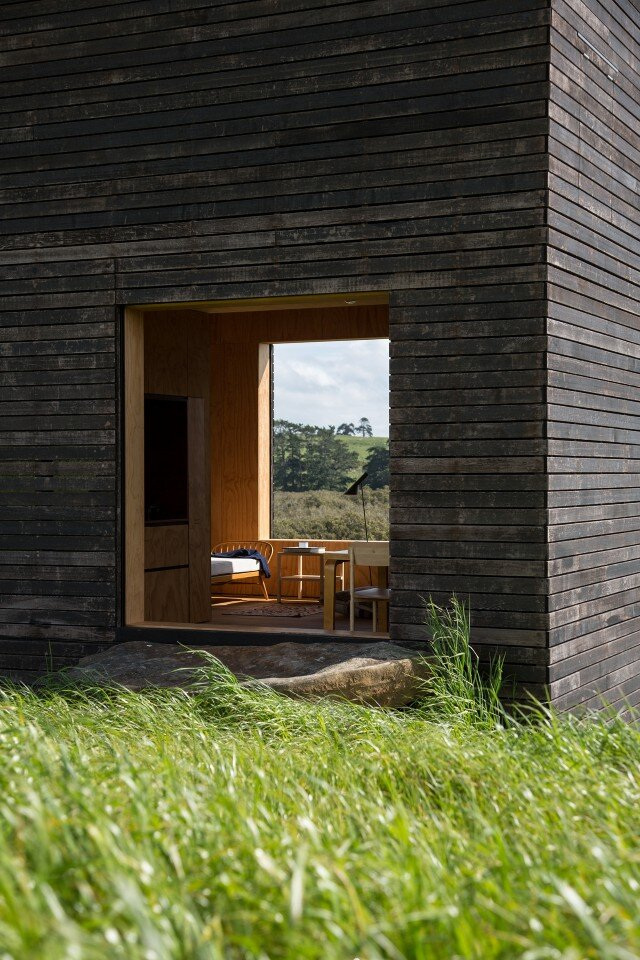 sustainability- cabin - authentic immersion in the wild nature