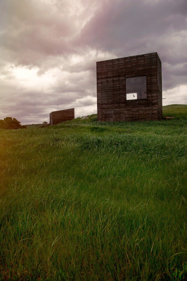 two cabins - sustainability by Cheshire Architects