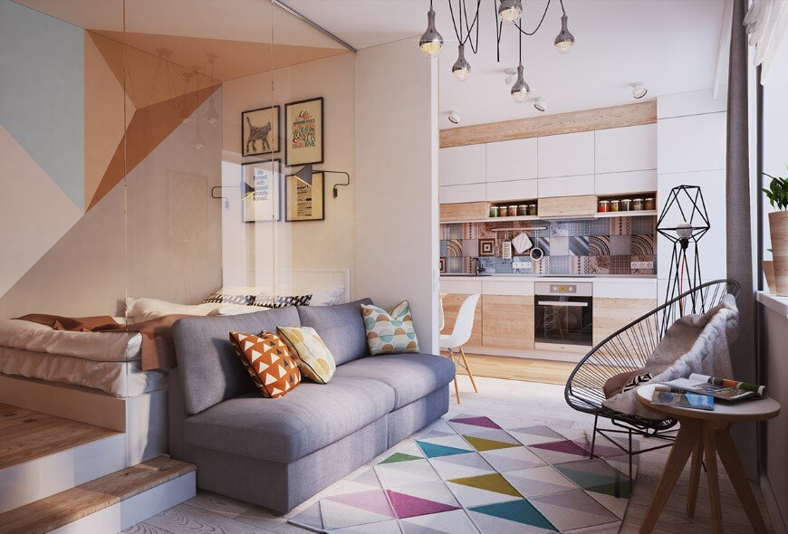 Apartment Verbi with modern and unique design for a young family (3)