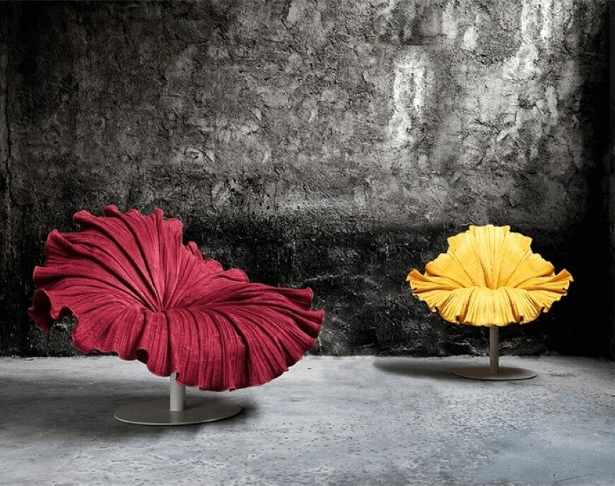 Bloom Chair inspired by a delicate blossom - Designed by Kenneth Cobonpue (1)