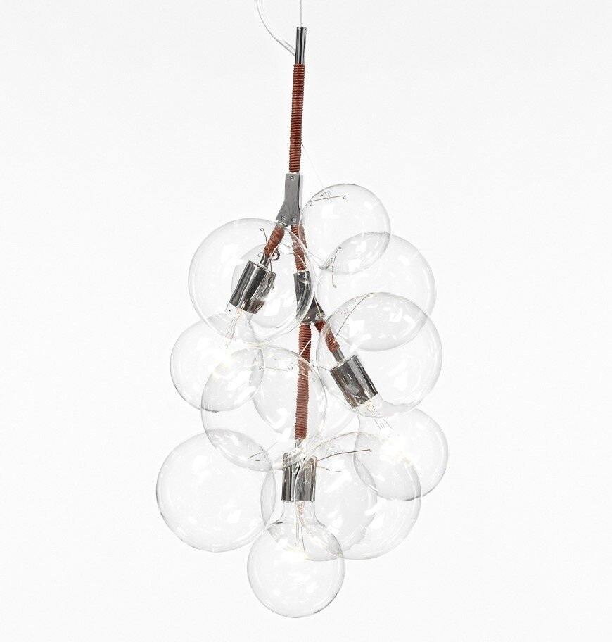 Bubble Chandeliers - a collection of distinctive lights developed by Pelle Designs (4)