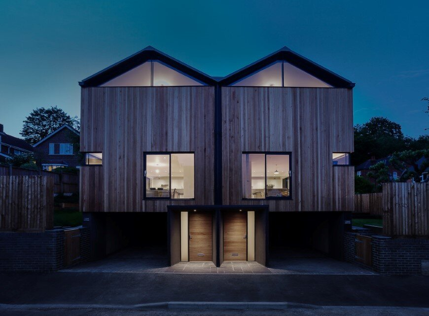 Cedar Lodge contemporary timber & zinc clad houses (8)