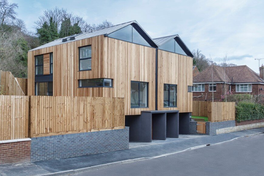Cedar Lodge contemporary timber & zinc clad houses (9)