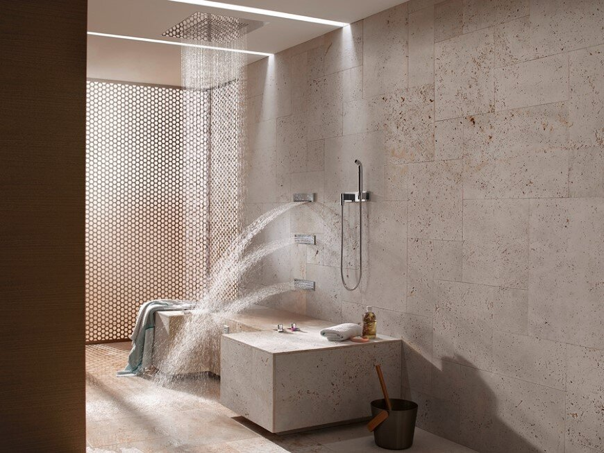 Comfort Shower from Dornbracht lets you shower while sitting down (2)