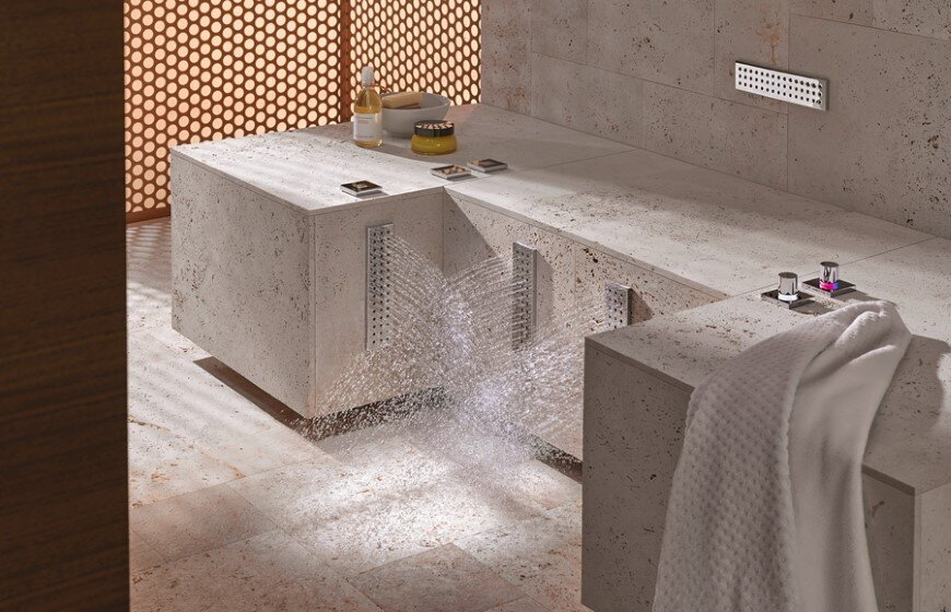 Comfort Shower from Dornbracht lets you shower while sitting down (3)